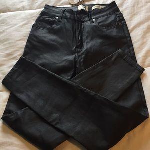 (91) COTTON ON- Australian Faux leather pant NWT